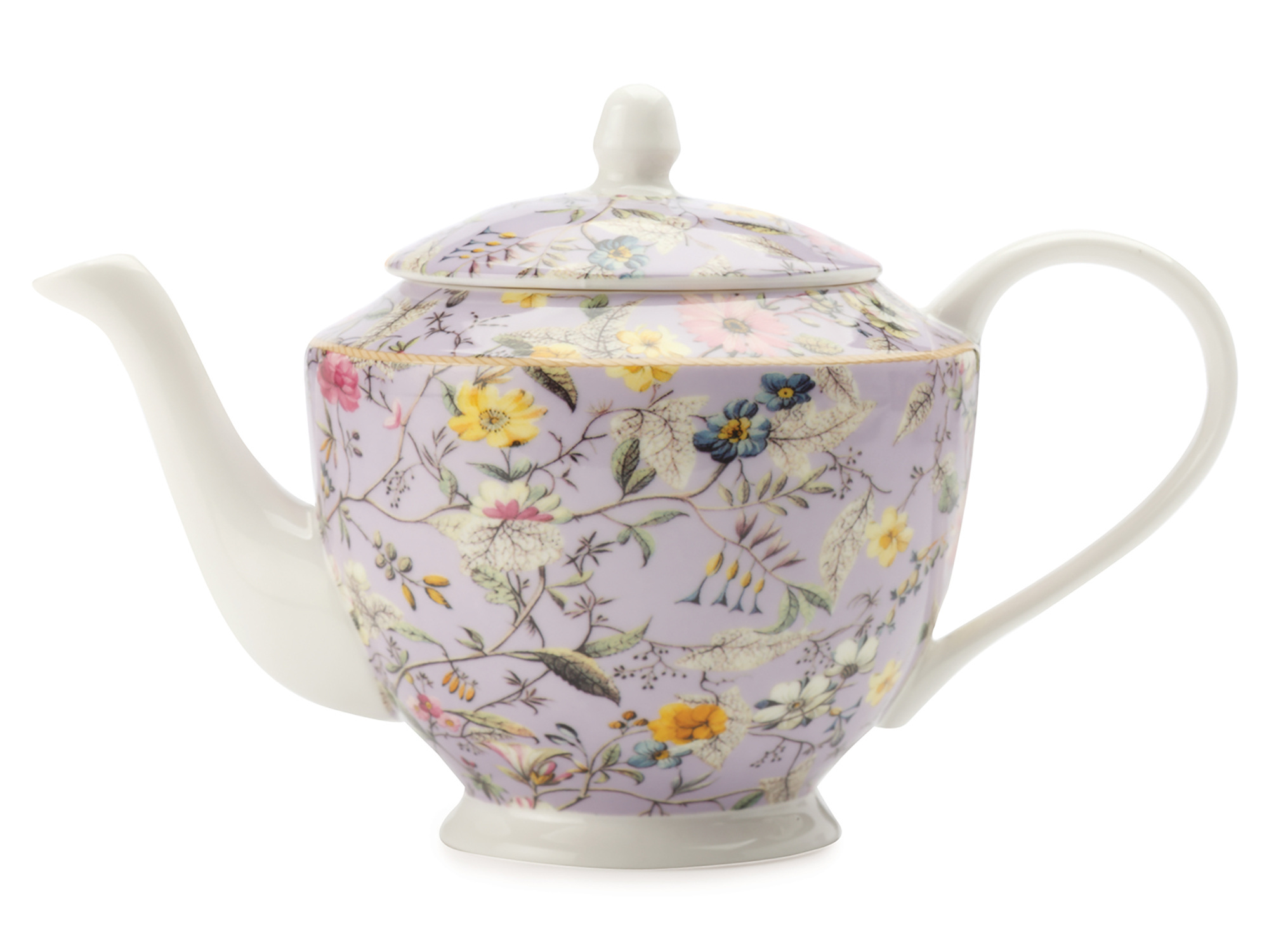 Maxwell & Williams William Kilburn Winter Bloom 500Ml Teapot Gift Boxed
