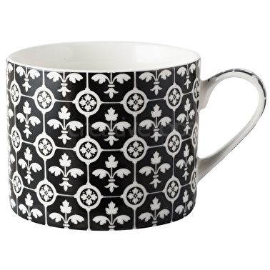 Victoria and Albert Fleur de Lys Encaustic Tiles Mug