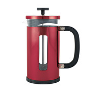 La Cafetiere Pisa 3 Cup Cafetiere Red