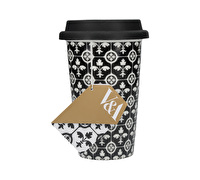 Victoria And Albert Encaustic Tiles Travel Mug
