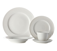 Casa Domani Casual White Evolve 20Pc Dinner Set