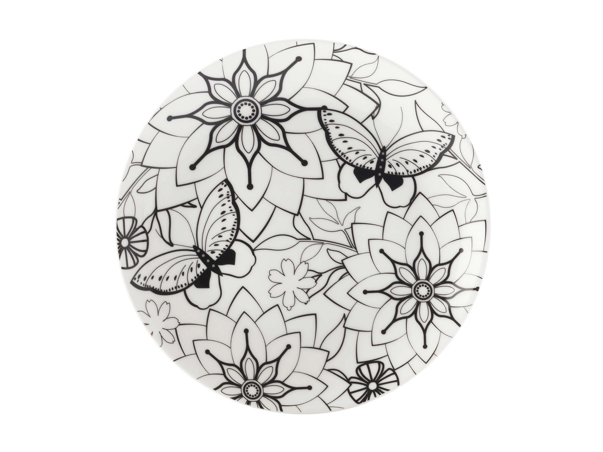 Maxwell & Williams Mindfulness Butterflies 19Cm Plate Gift Boxed
