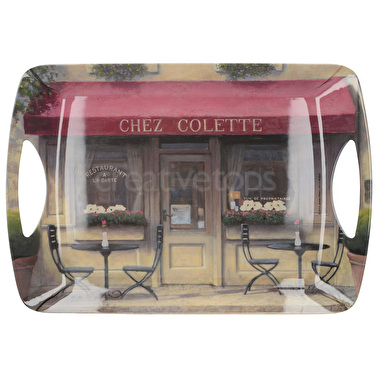 Creative Tops Chez Colette Large Luxury Handled Tray