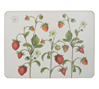 Kew Gardens Strawberry Fayre Pack Of 6 Premium Placemats