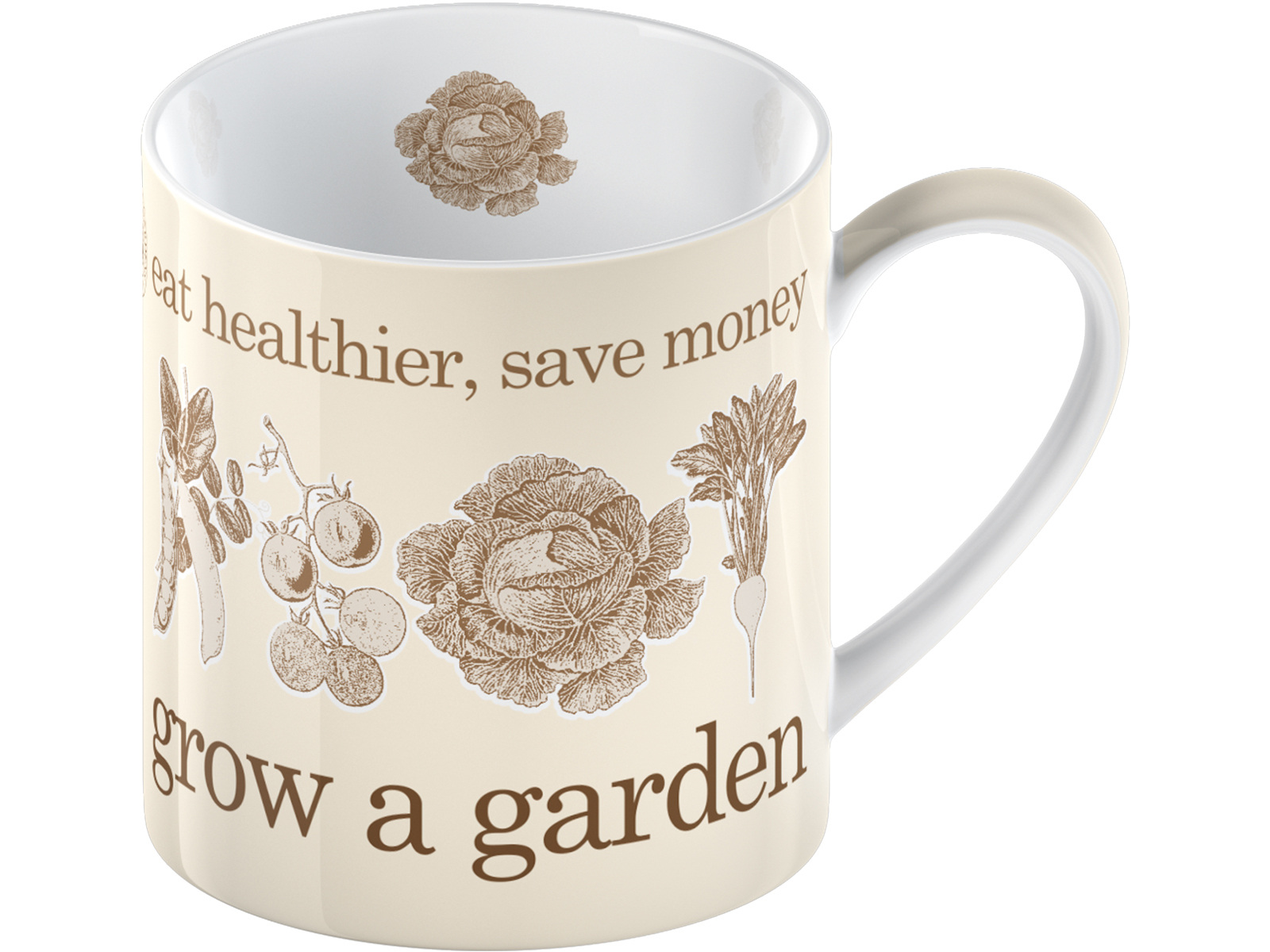 Kew Gardens Grow A Garden Can Mug