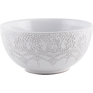 Katie Alice Lace Embossed Cereal Bowl