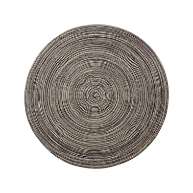 Creative Tops Round Vinyl Placemat Brown And Cream