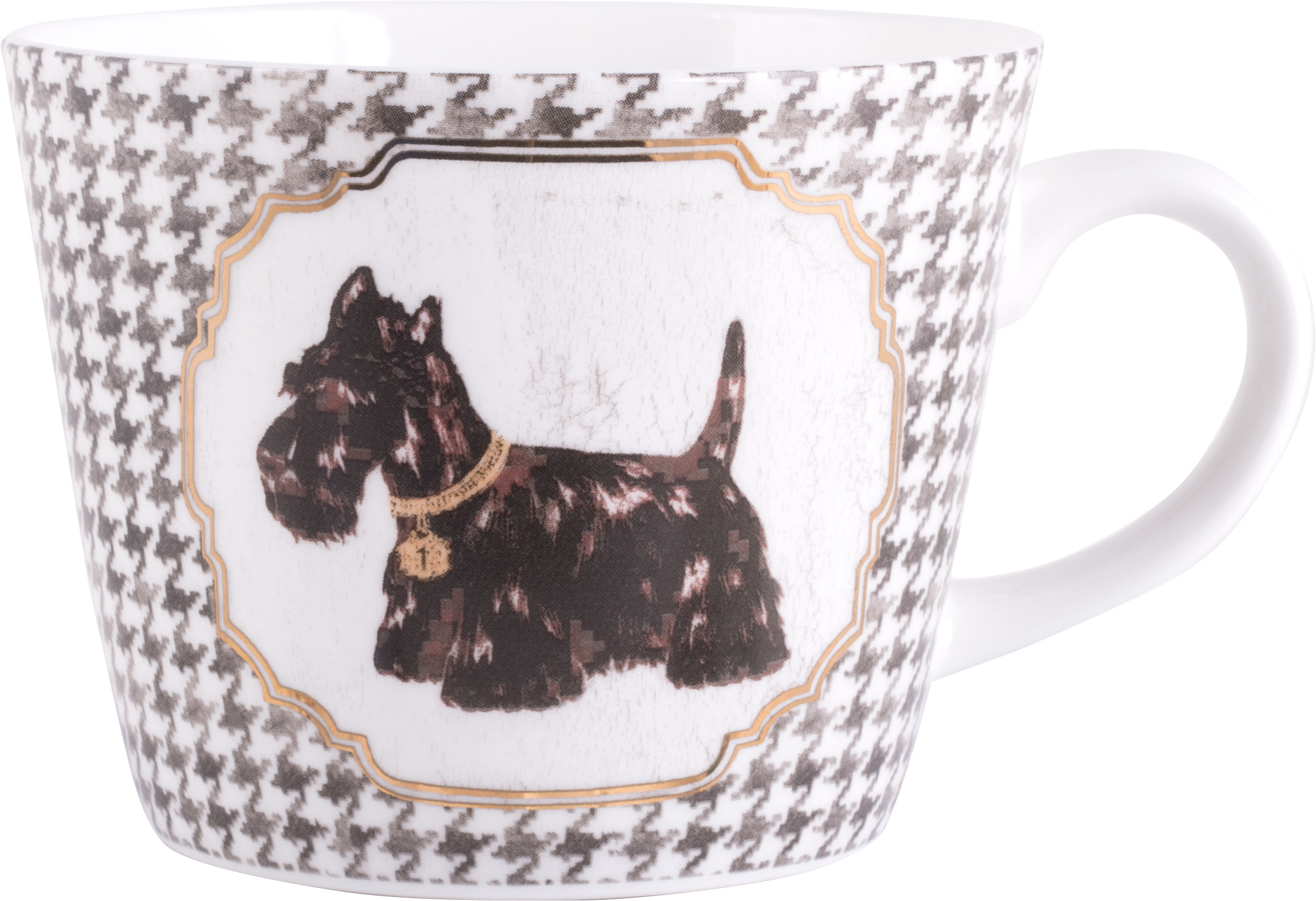 Creative Tops Tooth Scottie Dog Squat Conical Mug