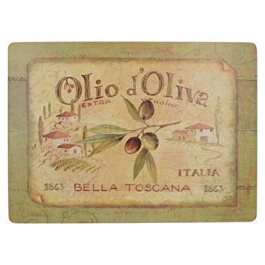 Creative Tops Olio D Oliva Pack Of 4 Large Premium Placemats
