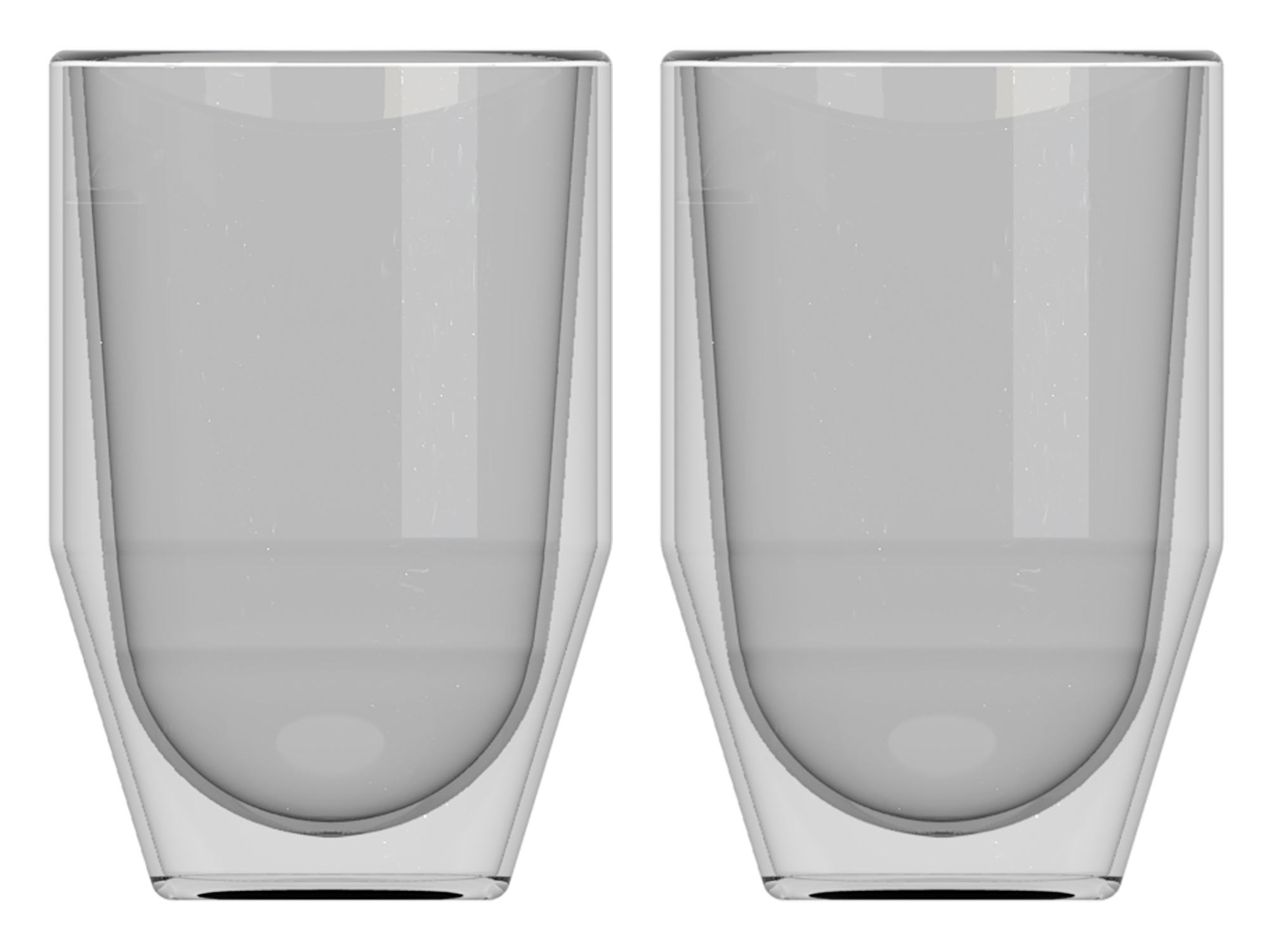 La Cafetiere Fika Set Of 2 300Ml Double Walled Glasses