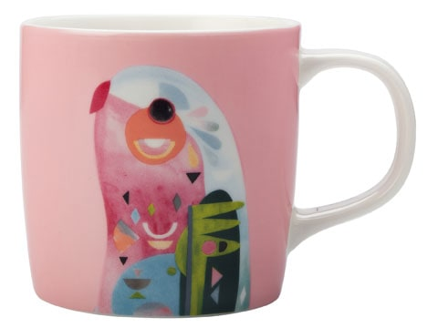 Maxwell & Williams Pete Cromer 375ml Mug Parrot Gift Boxed