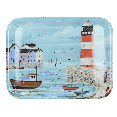 Everyday Home Lighthouse Coastal Small Tray