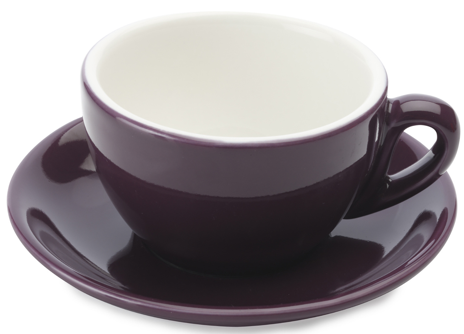Maxwell & Williams Cafe Culture 200Ml Cup And Saucer Porpora