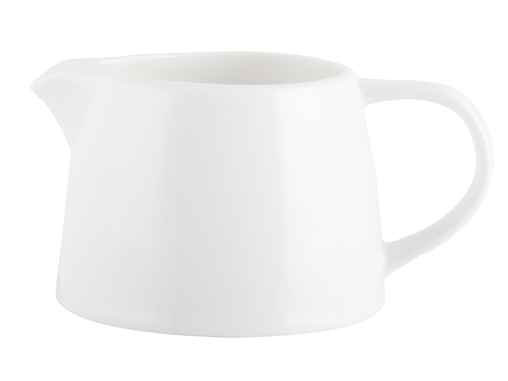 M By Mikasa Whiteware Ridged Creamer