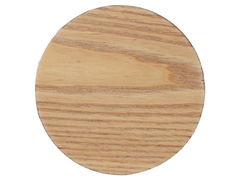 Creative Tops Naturals Wood Veneer Pack Of 4 Round Coasters
