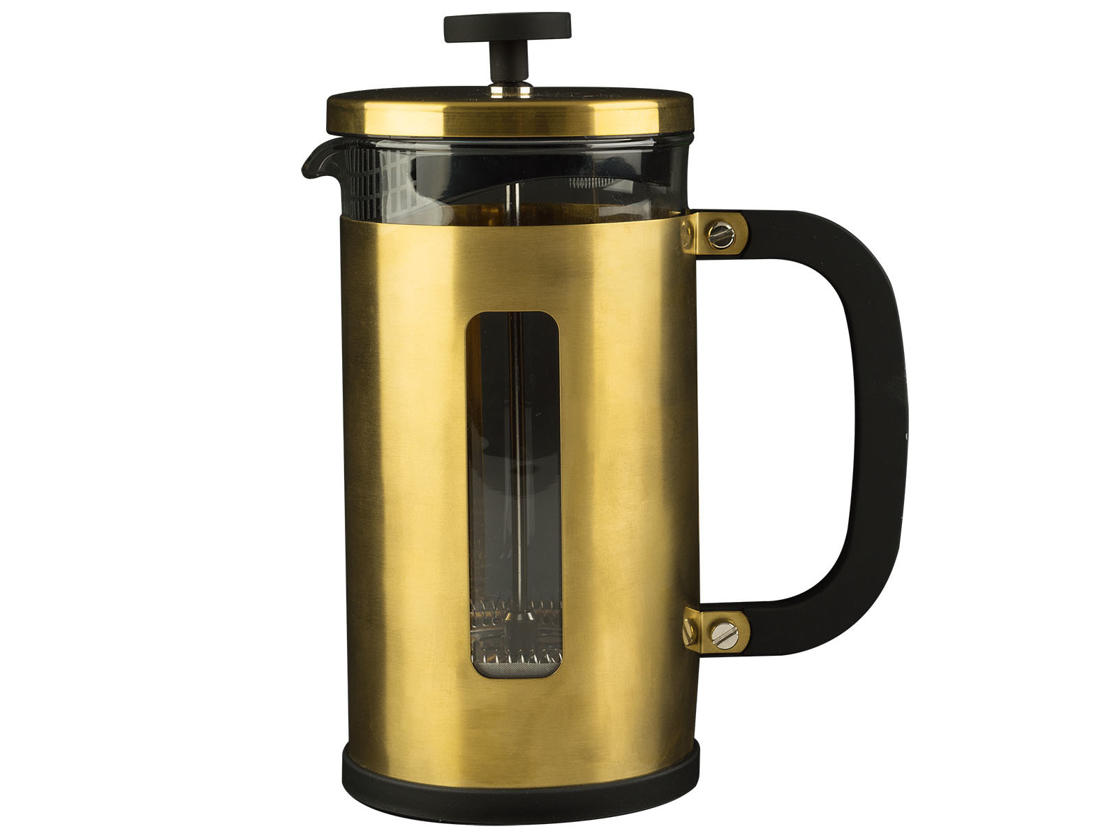 La Cafetiere Edited Pisa 3 Cup Cafetiere Brushed Gold
