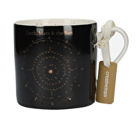 Creative Tops Black Astronomy Can Mug
