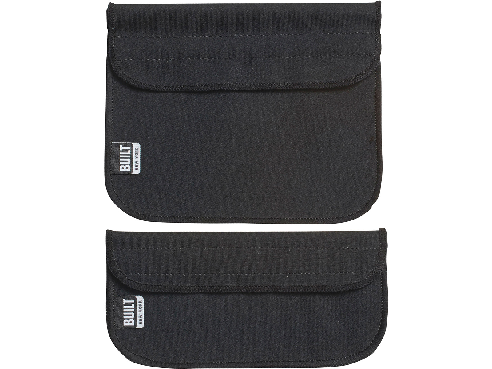 Built Sandwich And Snack Sleeves Black