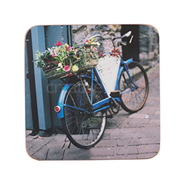 Creative Tops Vintage Bike Pack Of 6 Premium Coasters