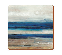 Creative Tops Blue Absract Pack Of 6 Premium Coasters