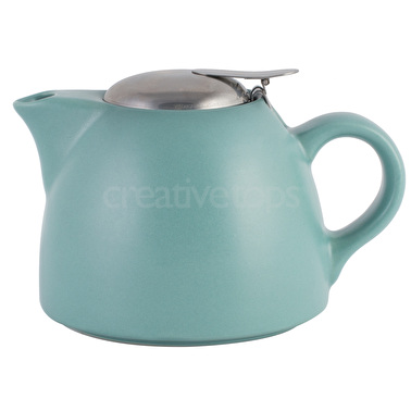 La Cafetiere Barcelona 450ml Teapot Retro Blue