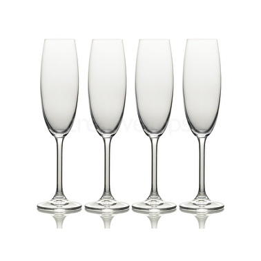 Mikasa Julie Set Of 4 8Oz Flute Glasses