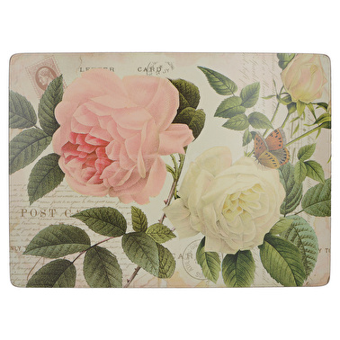 Creative Tops Rose Garden Pack Of 6 Premium Placemats