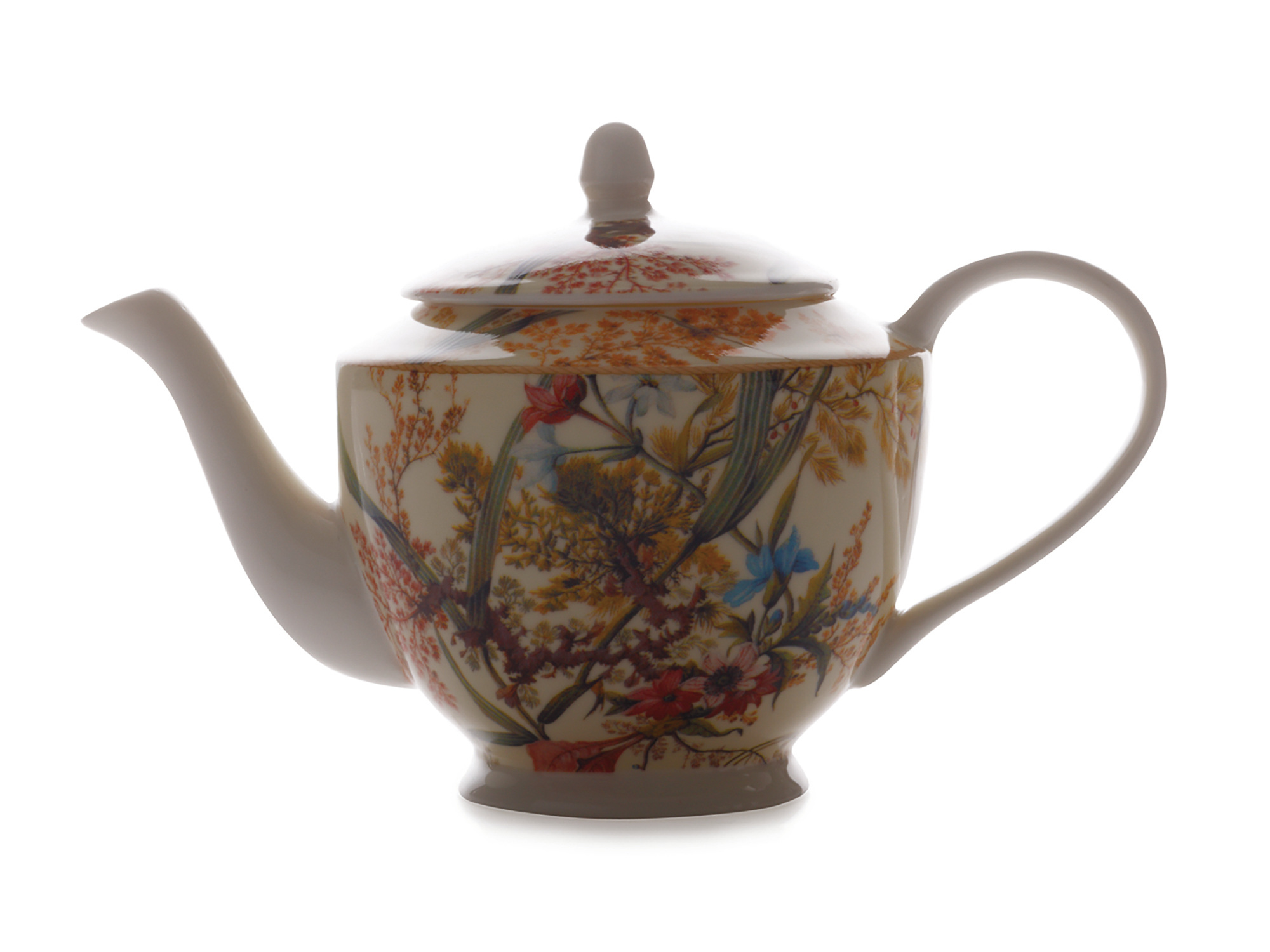 Maxwell & Williams William Kilburn Cottage Blossom 500Ml Teapot Gift Boxed