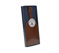 Creative Tops Earlstree & Co Leather Luggage Tag