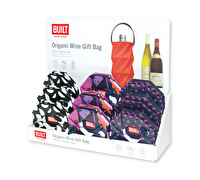 Built Origami Paper Wine Gift Bag With Pdq Assorted