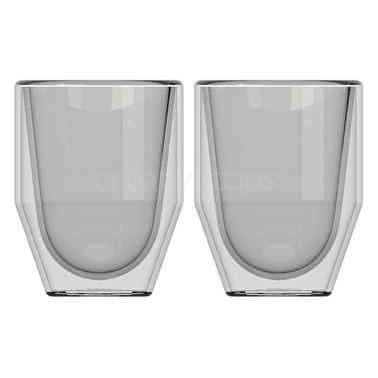 La Cafetiere Fika Set Of 2 70Ml Double Walled Glasses