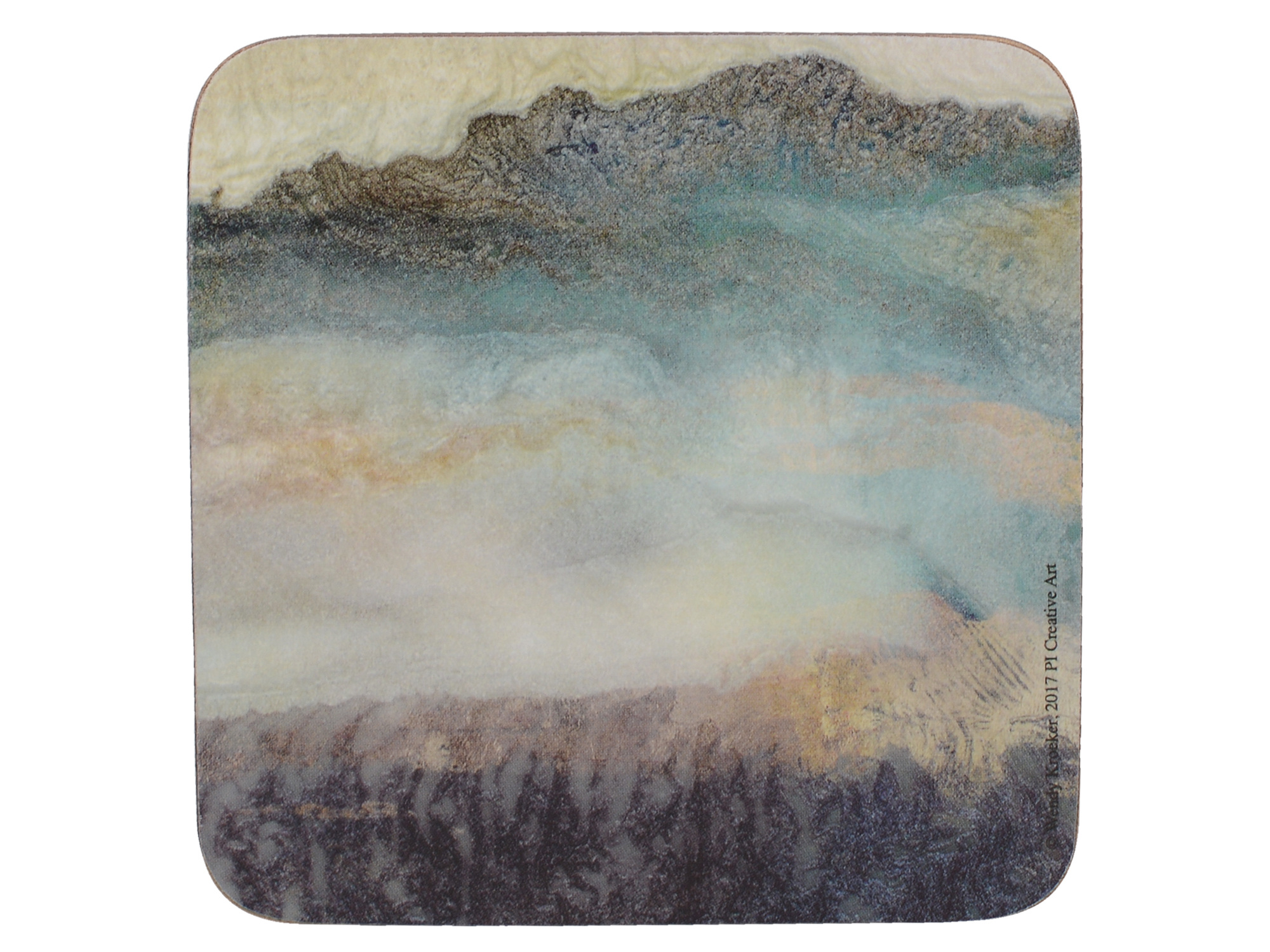 Creative Tops Lustre Mineral Pack Of 6 Premium Coasters