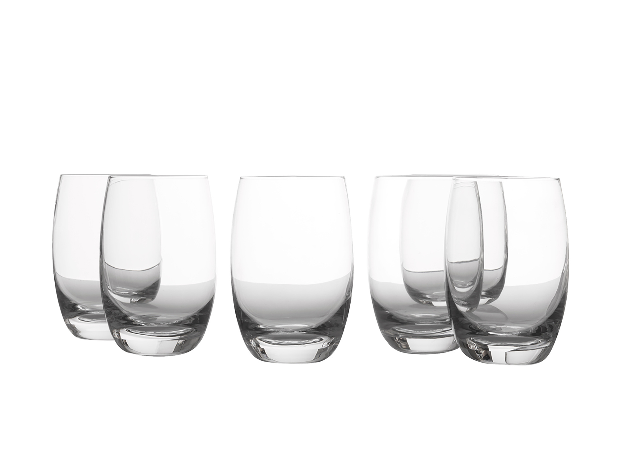 Casa Domani Evolve Set Of 6 360Ml Hi Ball Glasses