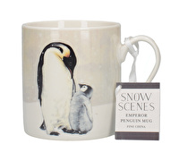 Creative Tops Snow Scenes Penguin Can Mug