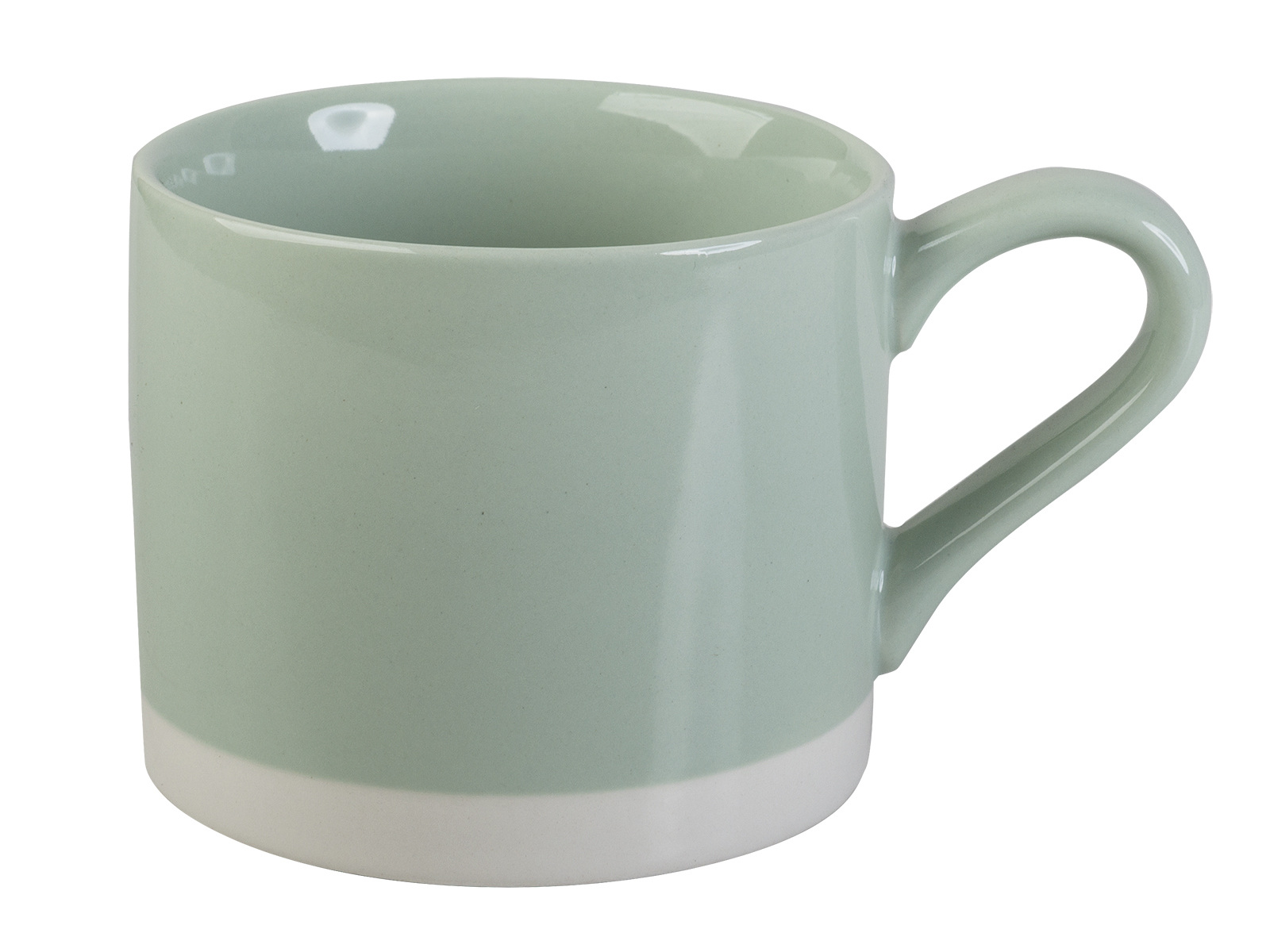 Everyday Home Squat Can Mug Pastel Green