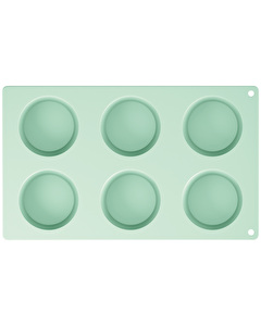 Photo of Katie Alice Cottage Flower 6 Cup Silicone Muffin Mould Green