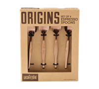 La Cafetiere Origins Set Of 4 Espresso Spoons