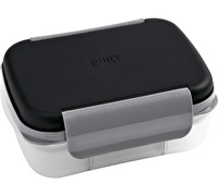 Built Gourmet Bento Box Black And Grey