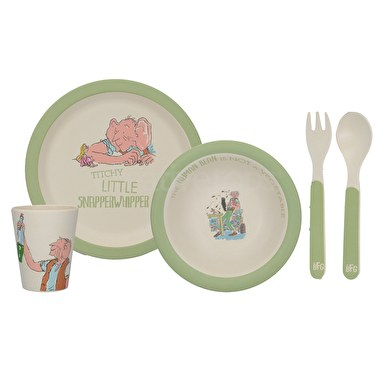 Roald Dahl Bfg 4Pc Pressed Bamboo Dinner Set