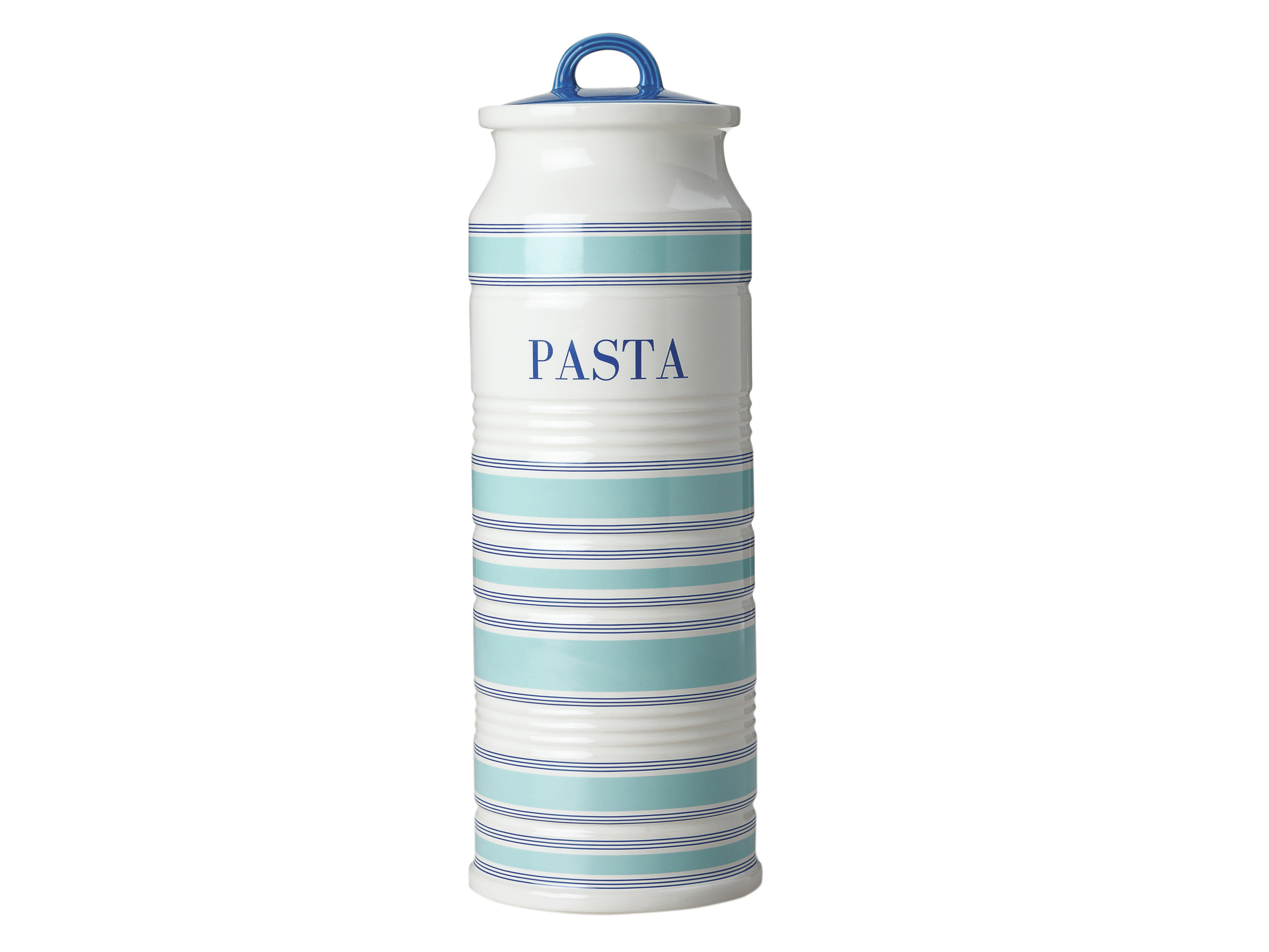 Maxwell & Williams Coastal Stripes 1.7L Pasta Canister Gift Boxed