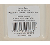Creative Tops Stir It Up Sugar Bowl White