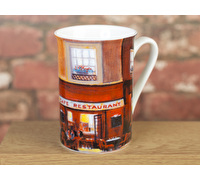 Everyday Home Evening Cafe Flared Rim Mug