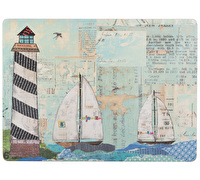 Creative Tops Sea View Pack Of 4 Large Premium Placemats