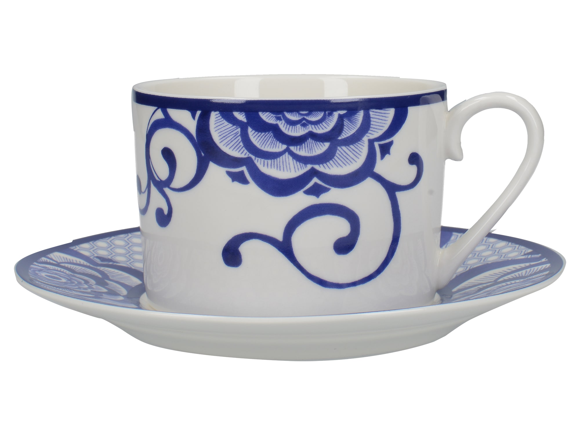 Victoria And Albert The Cole Collection Bold Floral Cup And Saucer