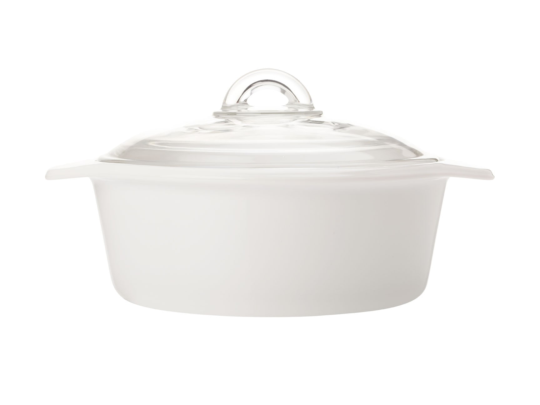 Maxwell & Williams Vitromax 2 Litre Round Casserole White