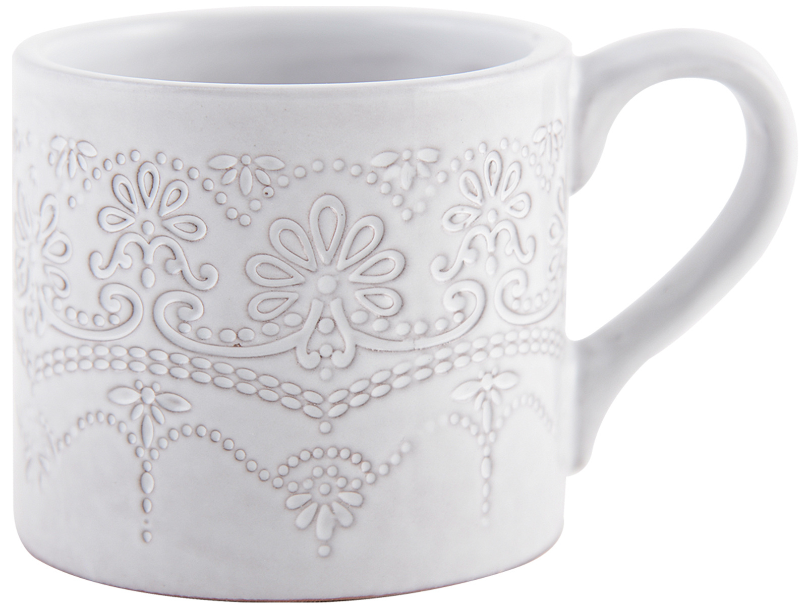 Katie Alice Lace Embossed Mug