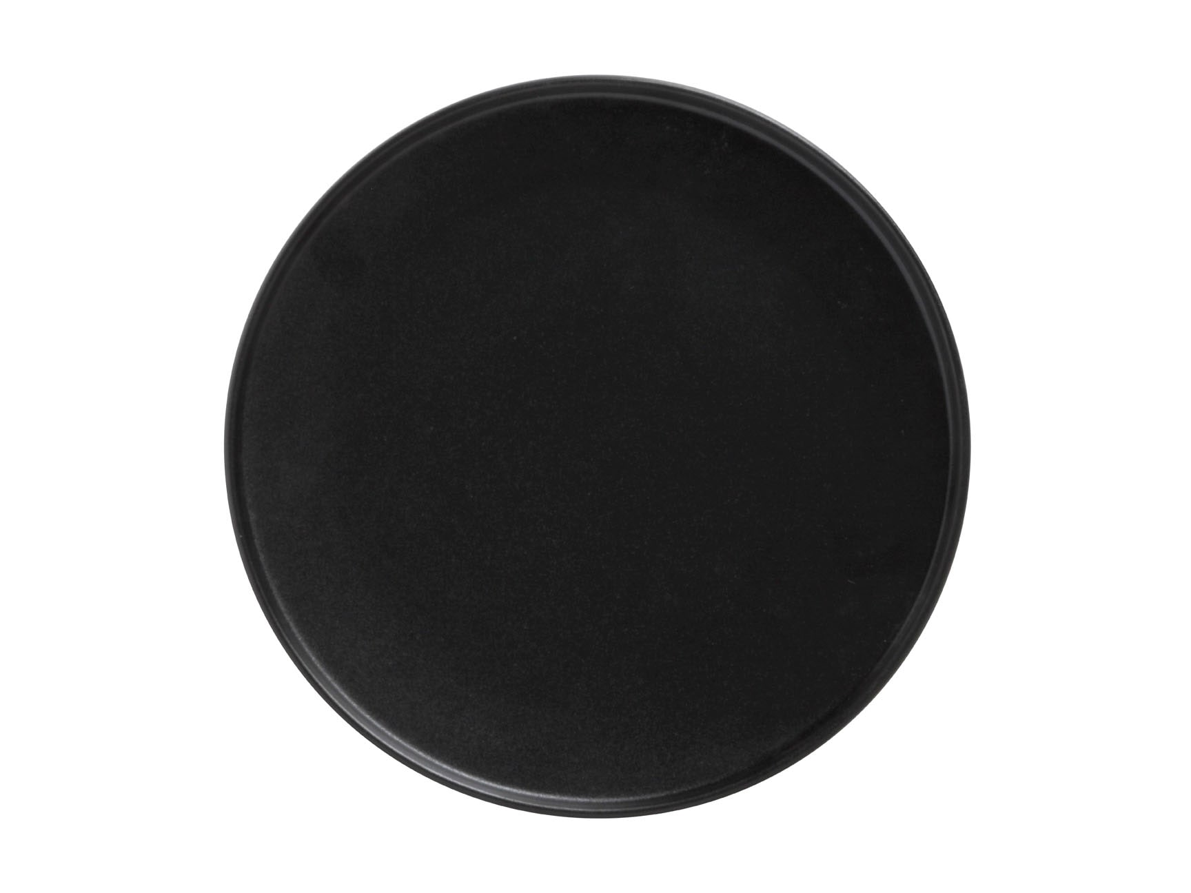 Maxwell & Williams Caviar High Rim 26.5cm Plate Black