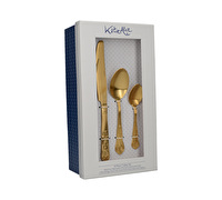 Katie Alice The Collection 16Pc Cutlery Set Gold