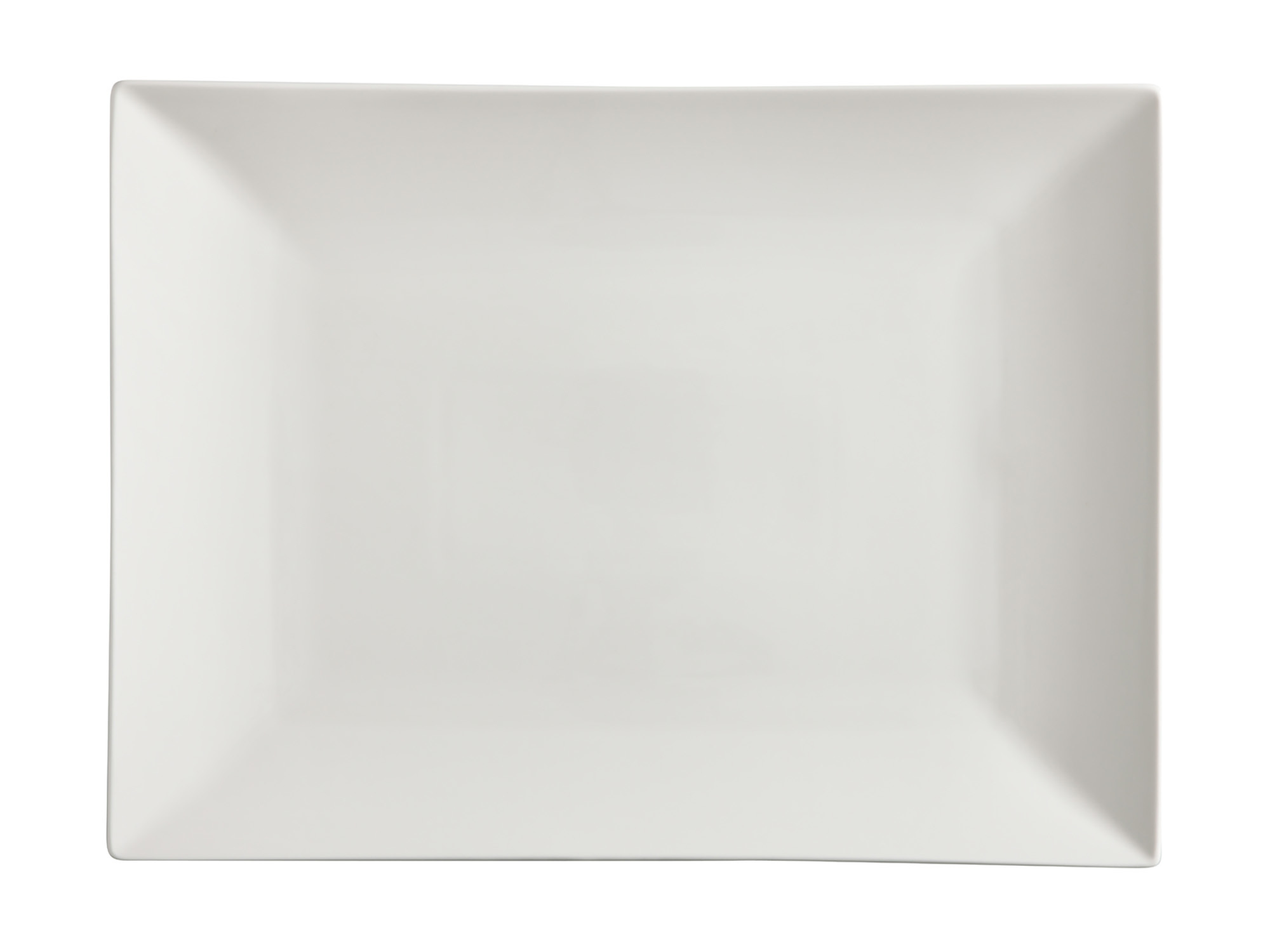Maxwell & Williams White Basics Linear 36X25Cm Rectangle Platter Gift Boxed