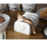 Creative Tops Farmers Market Embossed Toast Rack
